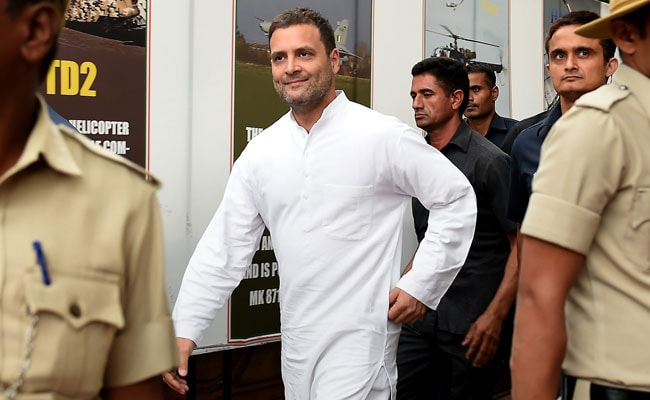 After Day At Parliament, Rahul Gandhi Stops For Dosa, Filter Coffee