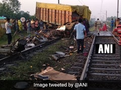 Truck Hits Delhi-Bound Rajdhani Express In Madhya Pradesh