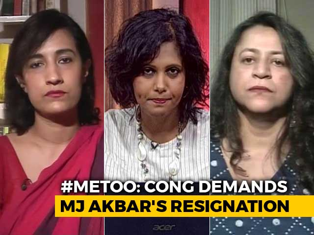 Video : #MeToo Movement: Government Still Silent On MJ Akbar