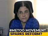 Video : Form Committees To Look Into Sex Harassment: Maneka Gandhi To Parties