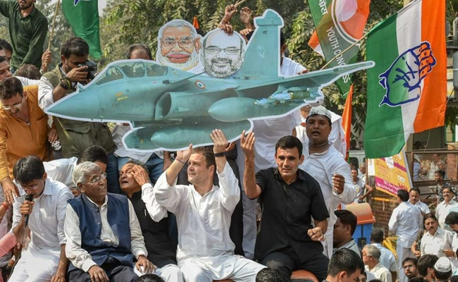 'PM Admitted To Theft': Rahul Gandhi After Centre Shares Rafale Details
