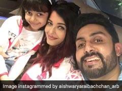 Aishwarya Rai Bachchan And Aaradhya Cheer For Abhishek Bachchan's Team