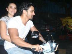 Rumoured Couple Harshvardhan Rane And Kim Sharma's Bike Ride Pic Is Viral