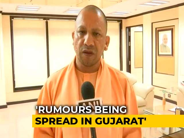 Video : Yogi Adityanath Speaks To Gujarat Counterpart Over Attacks On Migrants