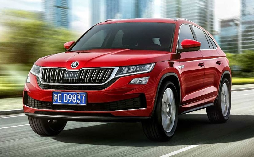 The Skoda Kodiaq GT will only be available in China