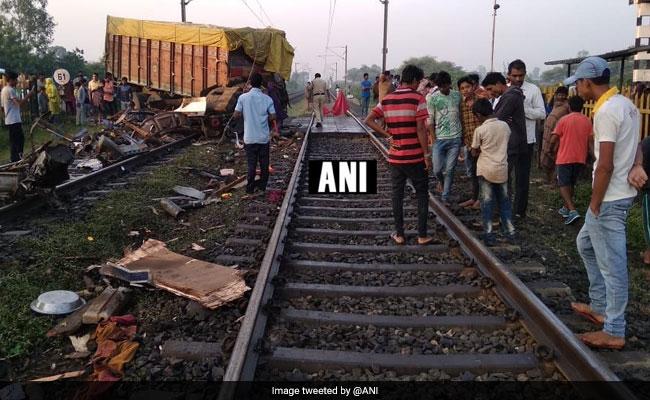 Truck Hits Delhi-Bound Rajdhani Express In Madhya Pradesh