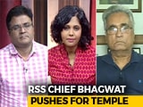 Video: RSS Chief's Mandir Push: Road To 2019 Via Ayodhya?