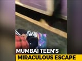 Video : Teen Slips Off Train, Commuters Grab T-Shirt To Pull Her Up Near Mumbai