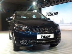 Tata Tigor Facelift Launched In India; Prices Start At Rs. 5.20 Lakh