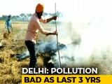Video : Of Top 10 Most Polluted Areas India, 8 Are In Delhi, Shows Pollution Data