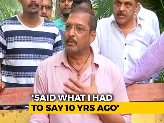 Lawyers Asked Me Not To Talk To Media On Tanushree's Claim: Nana Patekar