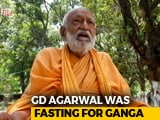 Video : 'Ganga Activist' GD Agarwal, On Fast For Nearly 4 Months, Dies