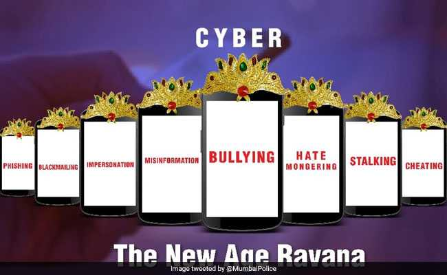 Mumbai Police Wants You To Be Alert About This 'New Age Ravana'