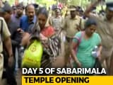 Video : Only 8 Women Below 50 Attempted Sabarimala Trek, Temple Closes Tomorrow