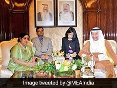 Sushma Swaraj Meets Kuwait Leaders, Raises Indian Community's Concerns