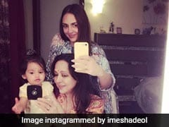 Esha Deol's Instagram Post Features Three Generations. Cute, <I>Na</I>?