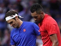 Roger Federer Warns Nick Kyrgios Over Work Ethic After Shanghai Strop