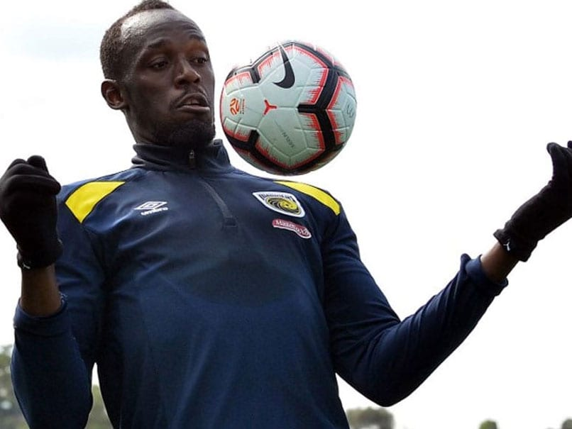 Sprint Superstar Usain Bolt Looking Forward To His First Football Start In Sydney