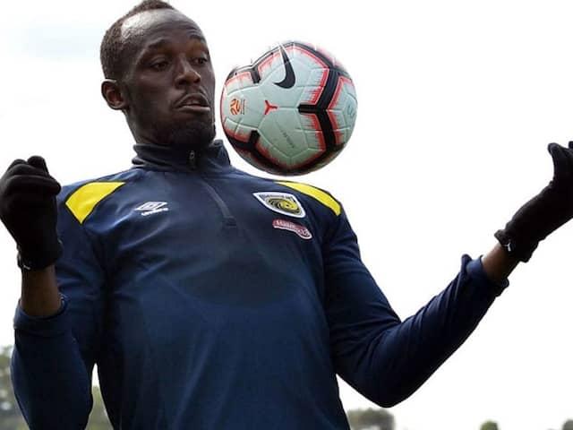 Sprint Superstar Usain Bolt Looking Forward To His First Football Start In Sydney