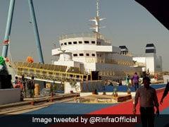 Reliance-Built Coast Guard Training Ship ICGS Varuna Launched