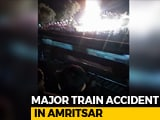 Video : Many Killed As Train Runs Over People Watching Ravan-Burning In Amritsar