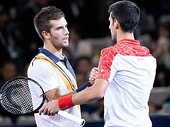 Watch: Sensational Rally Between Novak Djokovic, Borna Coric During Shanghai Masters Final Wows Fans