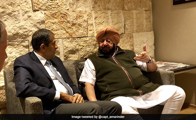 'Satisfied With Steps After Train Tragedy,' Amarinder Singh Now In Israel