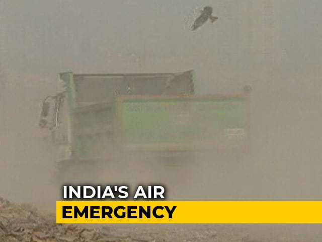 Video : Worried Mothers Send For Doctors As Delhi's Air Quality Worsens