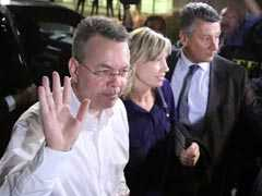 Pastor Andrew Brunson Arrives In Washington After Being Freed From Turkey