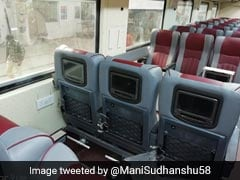 Swanky Tejas Coaches To Be Rolled Out In Chennai Today
