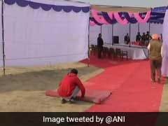 अमृतसर विस्फोट : घटनास्थल पर जा रहे सीएम कैप्टन अमरिंदर सिंह के स्वागत में रेड कार्पेट, विवाद बढ़ने पर हटाई गई