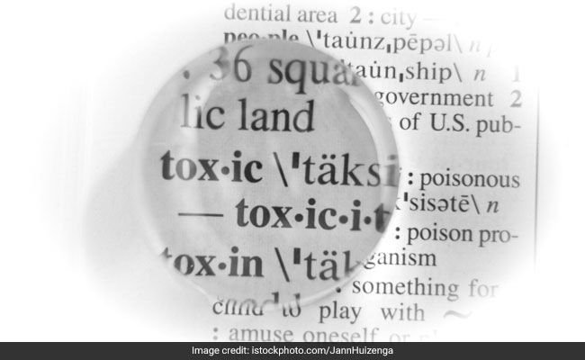 Oxford Dictionaries reveal word of the year is TOXIC