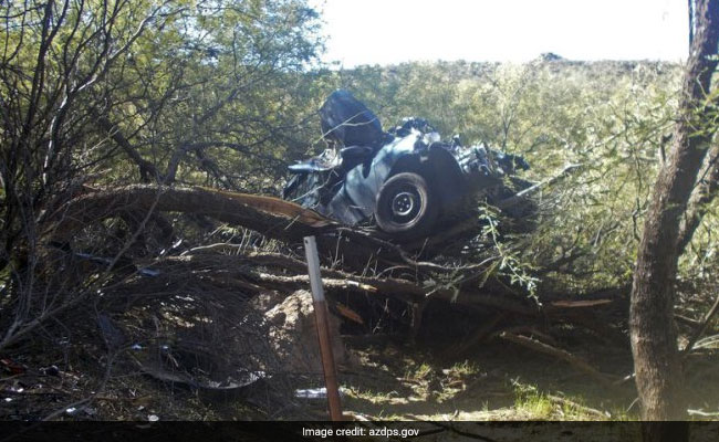 Police say woman in wreck saved after 6 days in Arizona desert