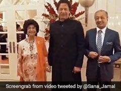 मलेशिया की फर्स्ट लेडी ने इमरान खान से की ऐसी रिक्वेस्ट, हंसकर पकड़ लिया हाथ, देखें VIDEO