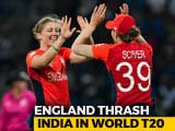 Video : ICC Women's World T20: India Crash Out, England Meet Australia In Final