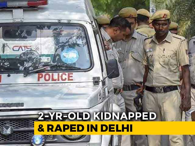 Video : 2-Year-Old Girl Raped, Left Near Railway Tracks In Delhi; 1 Arrested