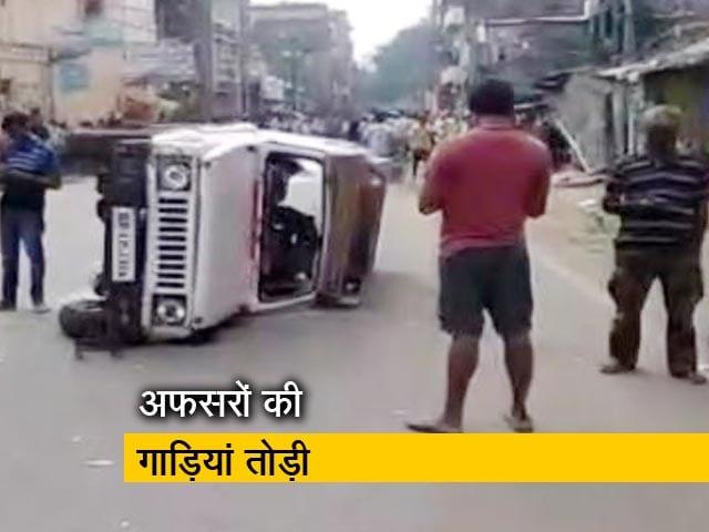 Videos : महिला सिपाही की मौत पर हंगामा