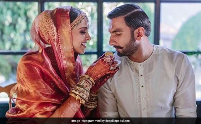 Deepika Padukone And Ranveer Singh Enjoy Traditional Konkani Meal Post-Wedding In New Photo! (See Pic)