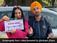 Kiara Advani And Diljit Dosanjh Start Shooting For <I>Good News</I>. Kareena Kapoor And Akshay Kumar To Join The Team Later