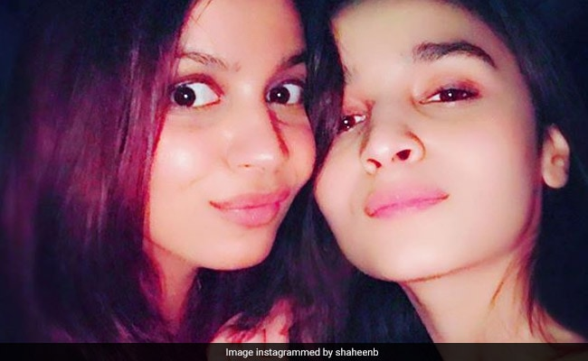 Alia Bhatt's Wishes 'Wonder Woman' Happy Birthday - Her Sister Shaheen