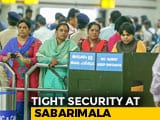 Video : Activist Trupti Desai Stuck At Kochi Airport As Sabarimala Temple Reopens