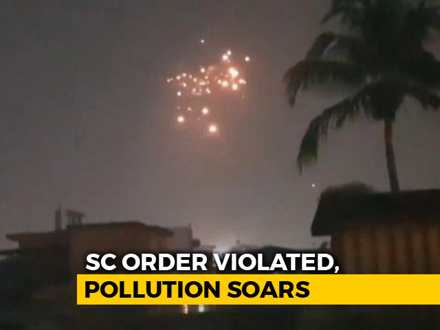 Video : Morning After Diwali, Kolkata Air Quality Falls To Near-Delhi Levels