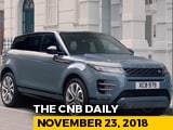 Video : 2020 Range Rover Evoque, Tata Harrier, BMW Cars