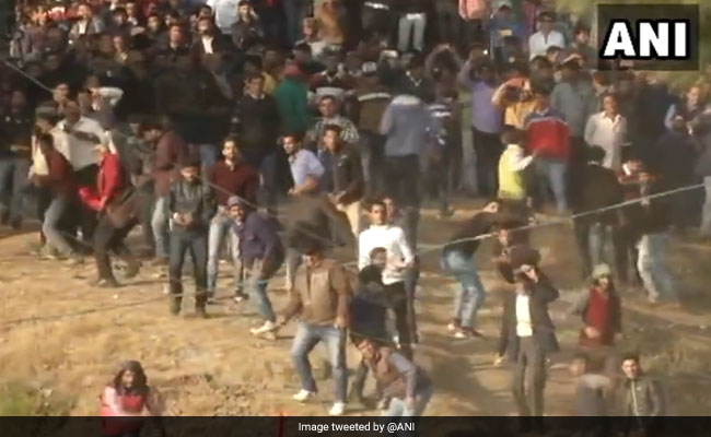 Watch: Himachal Festival Where People Throw Stones At Each Other