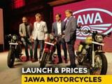 Video : Jawa Motorcycles Launched In India - Jawa, Jawa 42, Perak