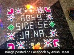 'Best Rangoli Of The Year': खराब न हो रंगोली तो लिख दी ऐसी चीज, खूब शेयर हो रही तस्वीर