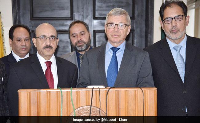 Former Norway PM Visits Kashmir, PoK, Omar Abdullah Asks Why