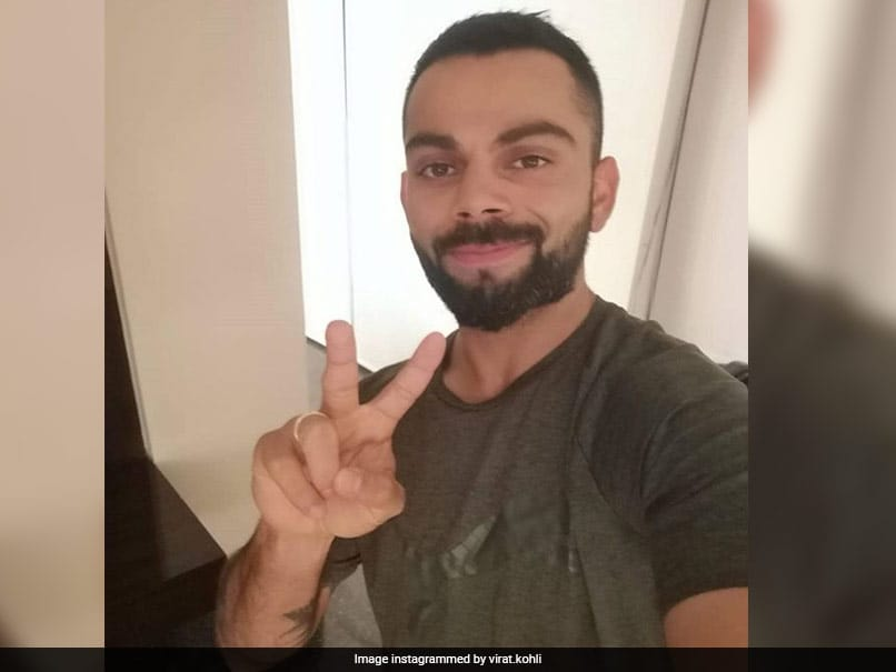 Virat Kohli took some time out to meet Australian footballer Tim Cahill