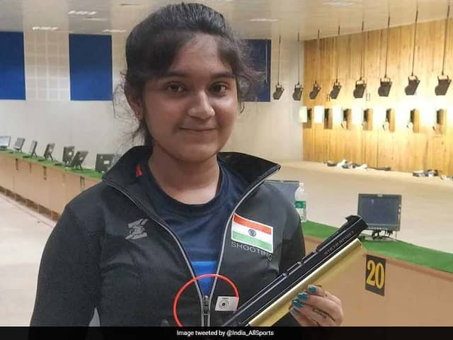 National Shooting Championships: 13-Year-Old Esha Singh Wins Three Gold Medals