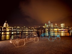 New Land Rover Range Rover Evoque Teased With Wire Sculptures